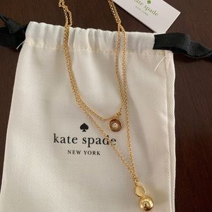Double Strand Kate Spade Necklace